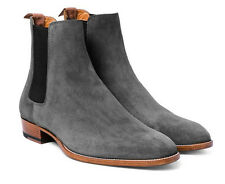Chelsea Patent Suede Boots, Jean Formal Ankle Boots Size Elastic Leather Sole