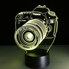 New Canon Camera 3D LED Lamp