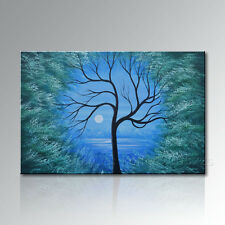 Hand painted Modern Landscape Wall Art Canvas Abstract Oil Painting  (no frame)