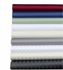 1000 TC EGYPTIAN COTTON 4 PIECES SHEET SET ALL SOLID/STRIPE COLORS!ALL US-SIZE
