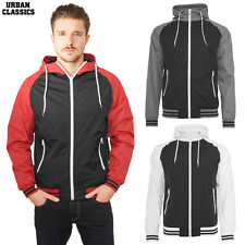 Urban Classics Men'S Raglan Windbreaker Jacket Training jacket Gym Fitness S-XXL