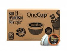 San Francisco Bay Coffee One Cup for K-Cup Brewers 80 Pack