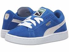 Puma Suede Kids Snorkel Blue/White Athletic Shoes Kids' Size 35511602