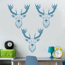 Stag Head Face Stencil Kids Nursery Wall Decor Art Craft Painting Ideal Stencils