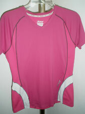 Excellent Womens Zoot Ultra Running Athletic Shirt Fuchsia or Black Size M - 3oz