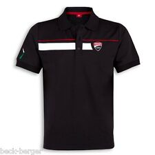 DUCATI CORSE SPEED Polo short sleeve tee black new 2017