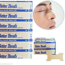 Hot Better Breath Nasal Strips Anti Snoring Patches Sleep Better Right to Stop H