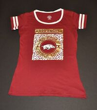 NWOT Arkansas Razorbacks Girls Kids Youth T-Shirt (XL) Shirt Jersey Child Hat