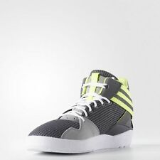 NEW ADIDAS ORIGINALS CRESTWOOD MID White Green Shoes Mens AQ8606 Sneakers RARE