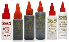 Salon Pro Hair Extension Bonding Glue Black, White & Remover (All sizes)