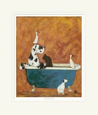 Big Dog Bath - Limited Edition Print by Sam Toft