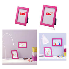 IKEA Picture Frames FISKBO Pink Set of 1 to Various Sizes Wood NEW Free Shipping