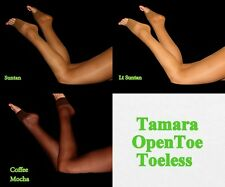 Sexy Tamara Toeless Open Toe Pantyhose for Hooters Girl Uniform Pic Size & Color