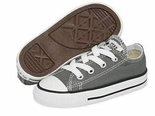 Converse All Star Charcoal Gray Ox Baby Boy Girl Toddler Infant Shoes Sizes