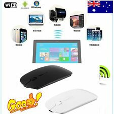 Portable Rechargeable Bluetooth 3.0 Wireless Mouse For Laptop PC Tablets LOT CH