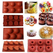 Silicone Donut Cupcake Mold Muffin Chocolate Cake Candy Cookie Baking Mould Pan