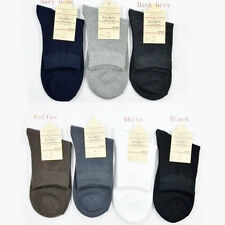 3/6/12Pair Mens Cotton Socks Low Cut Ankle Socks Crew Sock One Size Socks