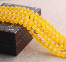 Natural Stone Topaz Gemstone Loose Beads Spacer Bead 15'' 4mm to 10mm