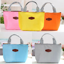 Portable Thermal Insulated Cooler Lunch Box Travel Picnic Carry Tote Bag CZ