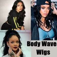 7A Brazilian Full Lace Front Human Hair Wigs Body Wave Remy Hair Wig For Women