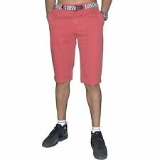 LEGENDERS - SHORTS CANVAS - MAN - TIMEOUT - RED WASHED SMOKY RED NEW
