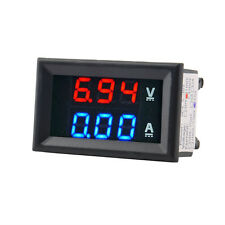 DC 100V 10A Voltmeter Ammeter Blue+Red LED Amp Dual Digital Volt Meter Gauge A^^