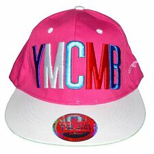 YMCMB - SNAPBACK CAP - ADJUSTABLE SIZE - PINK MULTICOLOURED NEW