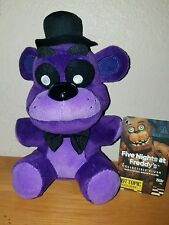Funko Five Nights at Freddy's Purple Shadow Freddy Plush HOT TOPIC EXCLUSIVE NEW