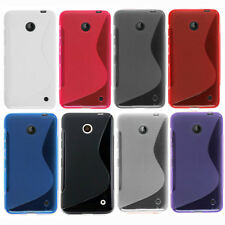 1x New Skidproof Soft Gel skin Case cover For Nokia Lumia 630 635