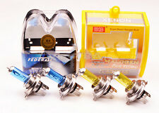 H4 Super Bright White/Yellow Fog Halogen Bulb 100/90W Car Head Light Lamp 12V ab