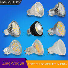 LED Bulbs GU10 MR16 SMD COB Light Dimmable Day Warm White Lamps CE