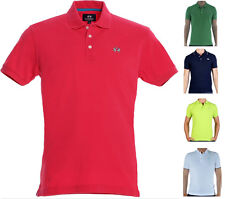 T-Shirt Polo Uomo Maniche Corte La Martina Men Short Sleeves Piquet Stretch 2016