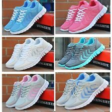 New Running Trainers Womens Walking Shock Absorbing Shoes Sports Fashion Shoes a