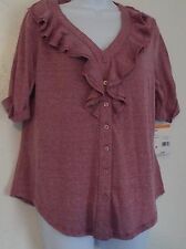 PETITE KNIT TOP NEW WITH TAGS LAURA SCOTT SIGNATURE FIT LARGE PETITE