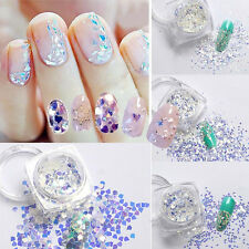 1Box Manicure Girls Nail Art Sequins Glitter Tips Paillette Nail Decoration Hot