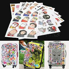 14 Styles Stickers for Skateboard Guitar Luggage Car Decal DIY Decoration 1Sheet