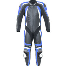 RST Motorbike Motorcycle Track 1 Piece Pro Series CPXC-2 Leather Suit - Blue