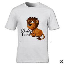 NEW****COLOR***DESIGN***DADDY LION **OR** HE CUB T-SHIRT FAMILY SON MUM KIDS DAD