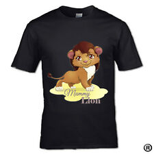 NEW****COLOR***DESIGN***MUMMY LION **OR** SHE CUB T-SHIRT FAMILY SON MUM KID DAD