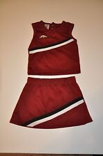 NWOT Arkansas Razorbacks Girls Infant Toddler Cheerleader Outfit (24M,4T) Shirt