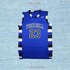 One Tree Hill Nathan Scott 23 Ravens Basketball Jersey Blue s-2xl