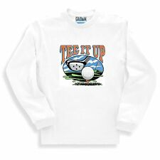 Long Sleeve T-shirt Adult Youth Sports Tee It Up Golfing Golf