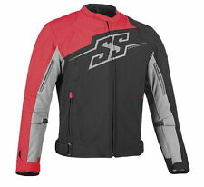 Speed and Strength Men's Hammer Down Textile Jacket Red Free Size Exchanges