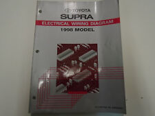 1998 TOYOTA SUPRA Electrical Wiring Diagrams EWD Service Shop Repair Manual