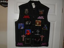BLACK SABBATH Tribute VEST-CHARCOAL-L....Iron Maiden,Megadeth,Anthrax,Testament