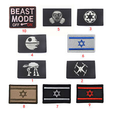 Fashion Embroidery War Military Tactical Army Morale Patch Badge Armbands New