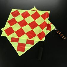 """2Pc 16.54 x 13.39""""/42 x 34cm Football Soccer Referee Flags Linesman Flags Sports"""