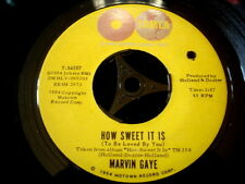 MARVIN GAYE/HOW SWEET IT IS/FOREVER/SOUL/TAMLA/USA PRESS