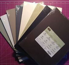 "Stampin Up! NEW 8 1/2"" x 11"" Cardstock Card Stock Paper Neutrals Regals Choose 1"