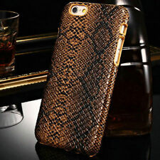 Slim Snake Skin Pattern Hard Plastic Back Case Cover Skin For iPhone 6 6S Plus
